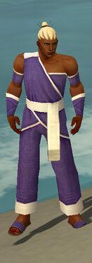 Monk Ascalon Armor M dyed front