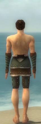 File:Ranger Elite Studded Leather Armor M gray arms legs back.jpg