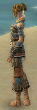 Monk Luxon Armor F gray side