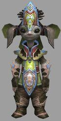 Vekk Armor Deldrimor Front