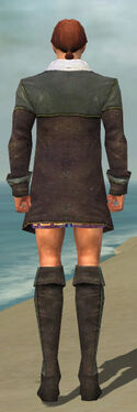 Mesmer Tyrian Armor M gray chest feet back
