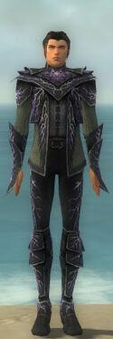 Elementalist Elite Stormforged Armor M gray front