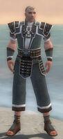 Monk Elite Judge Armor M gray front