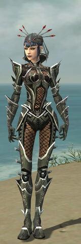 File:Necromancer Elite Kurzick Armor F gray front.jpg