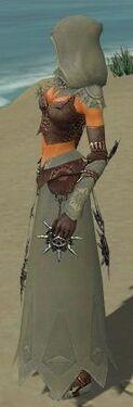 Dervish Elite Sunspear Armor F gray side