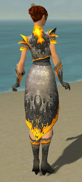 Elementalist Flameforged Armor F dyed back