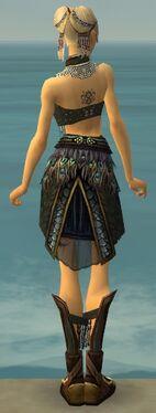 Ritualist Deldrimor Armor F gray back