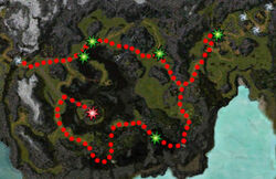 An Unwelcome Guest quest map