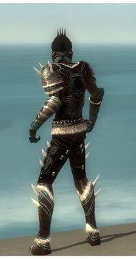 Necromancer Norn Armor M gray back