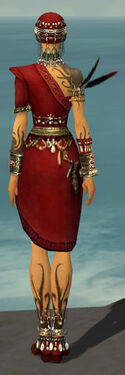 Ritualist Canthan Armor F dyed back