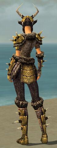 File:Warrior Elite Charr Hide Armor F dyed back.jpg