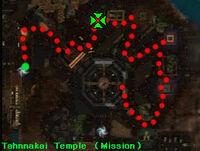 Bound Teinai map