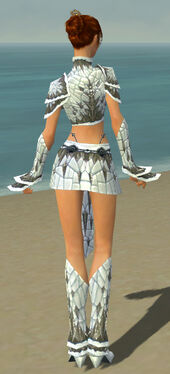 Elementalist Elite Iceforged Armor F gray back