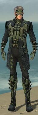 Mesmer Elite Kurzick Armor M gray front
