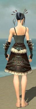 Necromancer Norn Armor F gray arms legs back