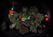 Gate of Torment location map