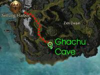 Ghachu Cave map