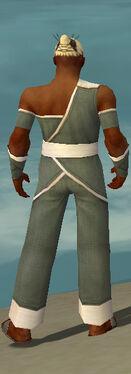 Monk Ascalon Armor M gray back