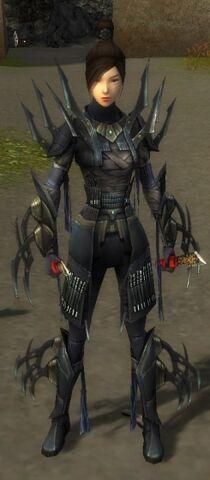 File:Zenmai Mysterious Armor F gray front.jpg