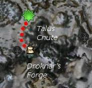 Korg Snowfoot map