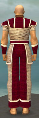 Monk Woven Armor M dyed back