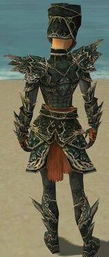 Warrior Elite Luxon Armor F gray back
