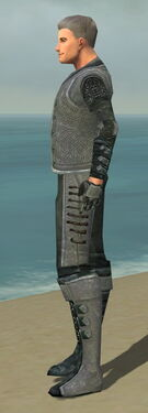Mesmer Elite Rogue Armor M dyed side