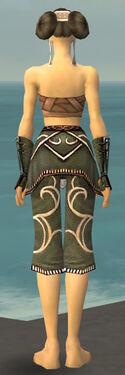 Monk Shing Jea Armor F gray arms legs back