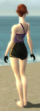 Mesmer Elite Sunspear Armor F gray arms legs back