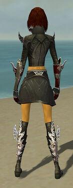 Assassin Deldrimor Armor F gray back