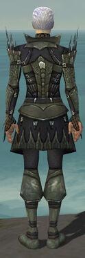 Necromancer Cabal Armor M gray back