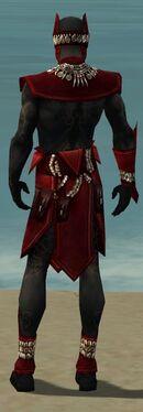 Ritualist Kurzick Armor M dyed back