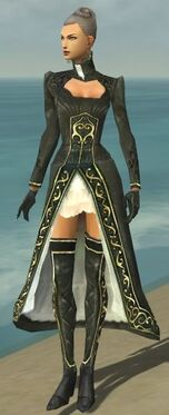 Mesmer Elite Noble Armor F gray front