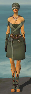 Ritualist Shing Jea Armor F gray front