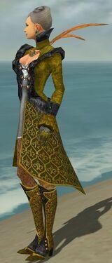 Mesmer Elite Elegant Armor F dyed side