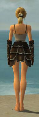 Warrior Shing Jea Armor F gray arms legs back