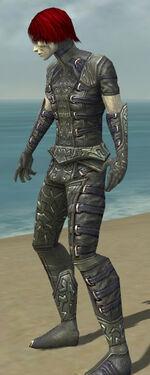Necromancer Ascalon Armor M gray side