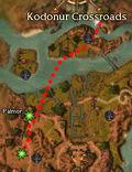 Tendering an Offer map