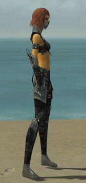 Assassin Luxon Armor F gray side