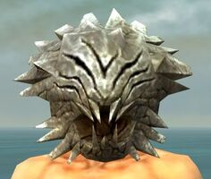 Grasping Mask gray front