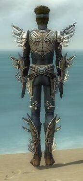Assassin Asuran Armor M gray back