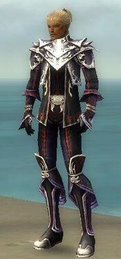 Elementalist Deldrimor Armor M dyed front