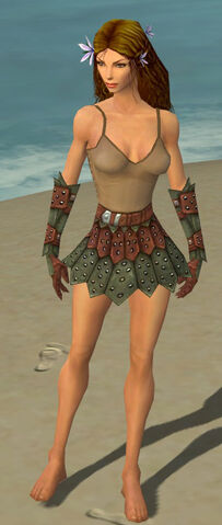 File:Ranger Studded Leather Armor F gray arms legs front.jpg