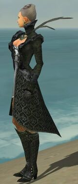 Mesmer Elite Elegant Armor F gray side