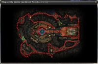 Nightfallen Garden map