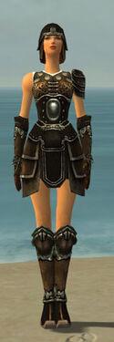 Warrior Shing Jea Armor F gray front