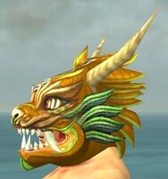 Imperial Dragon Mask gray side