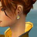 Elementalist Shing Jea Armor F dyed earrings