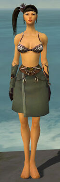Ritualist Shing Jea Armor F gray arms legs front