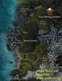 Kinya Province map